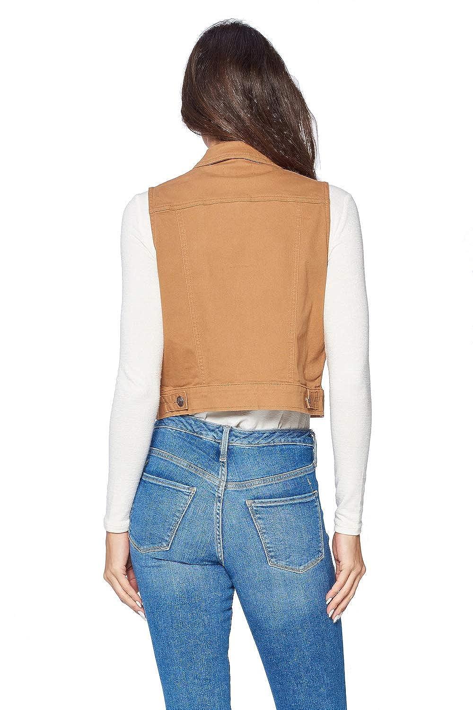 ICONICC Womens Denim Jean Sleeveless Vest