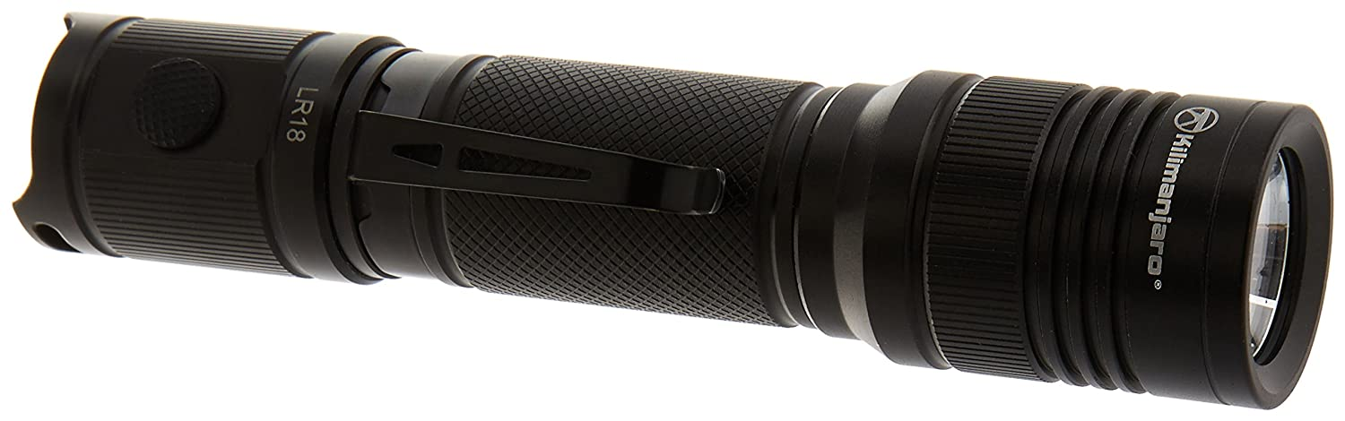 Cree LED Kilimanjaro 1000 Lumen Tactical Flashlight w//Pouch Batteries Included 910256