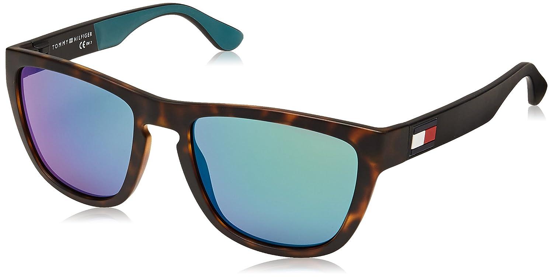 f7b8900d Sunglasses Tommy Hilfiger Th 1557 /S 0PHW Havana Green / Z9 green multi pz  lens: Amazon.co.uk: Clothing