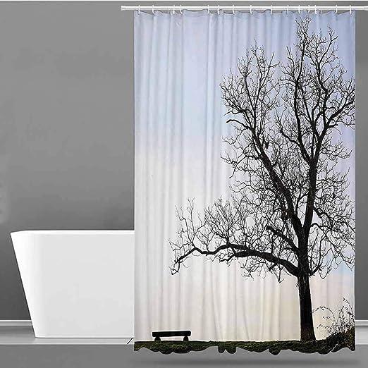 XXANS - Cortinas para mamparas de Ducha, decoración de casa de Granja, decoración de baño: Amazon.es: Hogar
