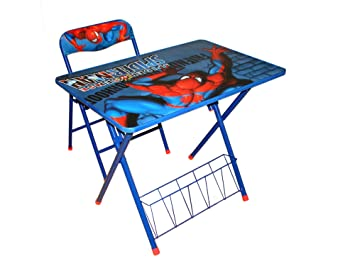 Stupendous Amazon Com Marvel Spiderman Activity Desk And Chair Set Andrewgaddart Wooden Chair Designs For Living Room Andrewgaddartcom