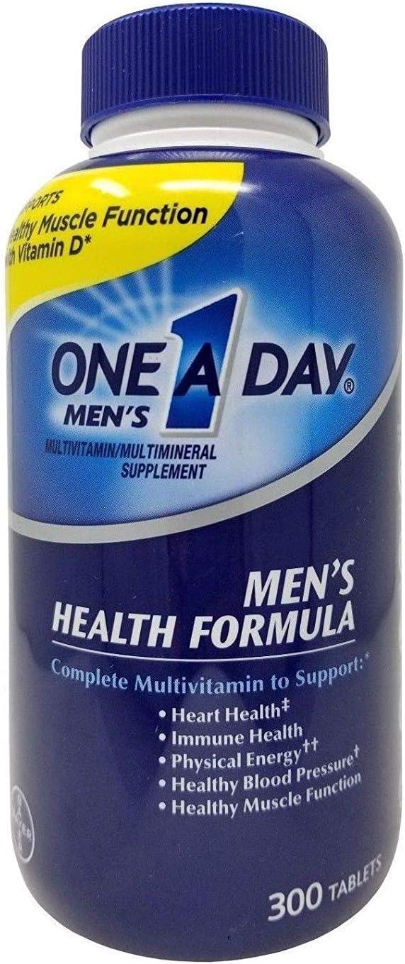 One A Day Men s Health Formula Multivitamin 300 Count iiiIII
