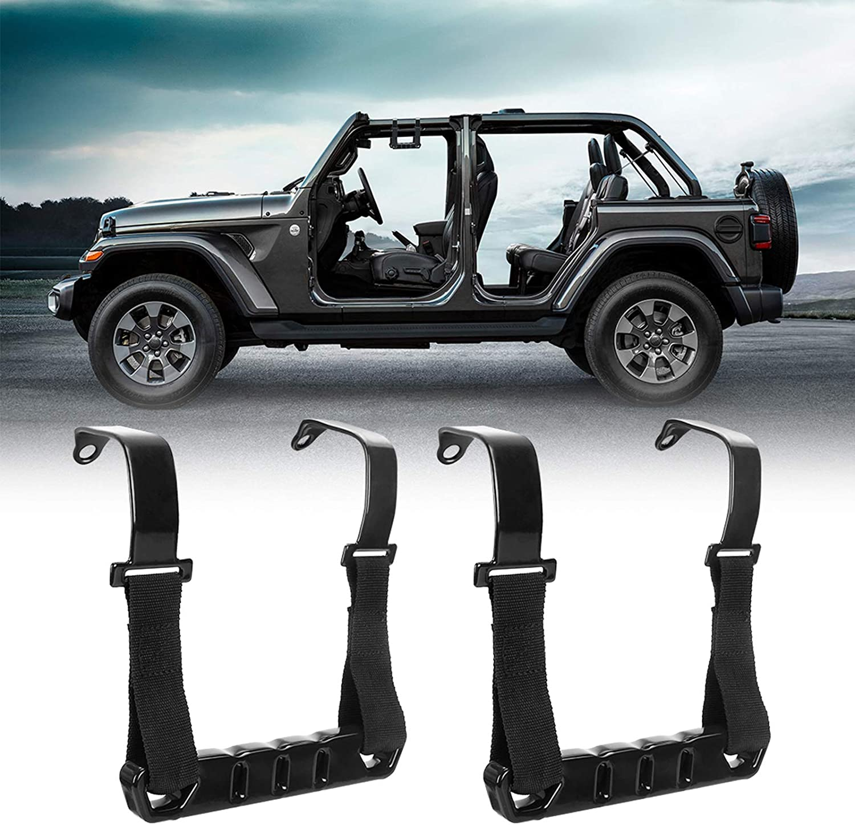 Bordan Jeep Wrangler Haltegriffe Vorne Metall Rollbar Griffe Kit Für Jeep Wrangler Jl Gladiator Jt 2018 2020 Baumarkt