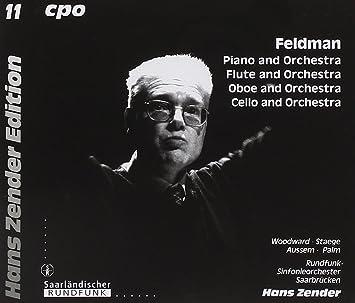 Morton Feldman, Hans Zender - Feldman: Piano and Orchestra; Flute and  Orchestra; Oboe and Orchestra; Cello and Orchestra - Amazon.com Music