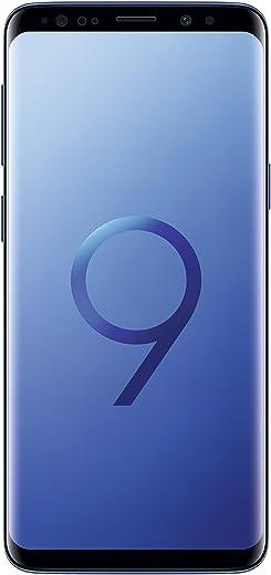 "Samsung Galaxy S9 Smartphone, Blu (Coral Blue), Display 5.8"", 64 GB Espandibili, Dual SIM [Versione Italiana]"