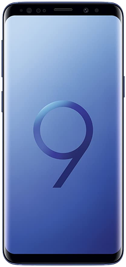 Samsung Smartphone Galaxy S9 (Single Sim) 64GB UK Version - Sky Coral Blue