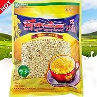 高寒 皮燕麦片1.2kg*2袋共2400克 量贩装 原味麦片纯麦片纯燕麦片 青海特产
