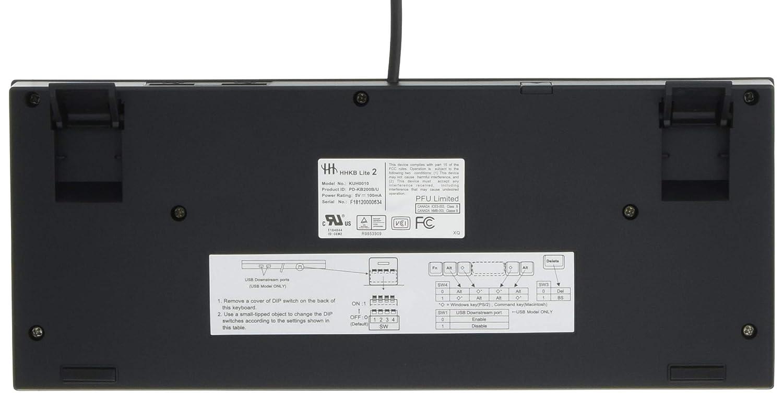 PFU Happy Hacking Keyboard Teclado Lite2 Ingl?s array USB Negro PD-KB200B / U (jap?n importaci?n): Amazon.es: Informática