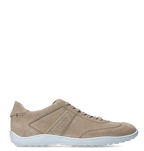 6bb54a7bea Image Unavailable. Image not available for. Color: Tod's Men's  Xxm08a0s480byec606 Beige Leather Sneakers