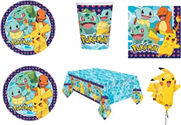 Party Store web by casa dolce casa Pokemon Pikachu - Juego de Mesa ...