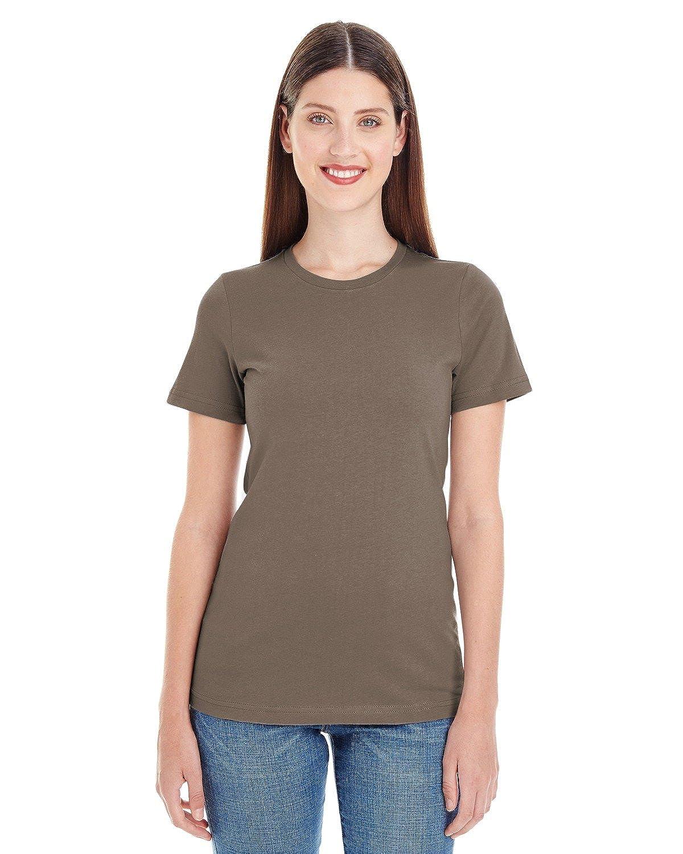 American Apparel Womens Organic Fine Jersey Classic Woman T-Shirt