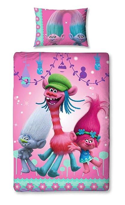 Multi-Colour Character World 135 x 200 cm Disney Princess Locket Single Panel Duvet Set