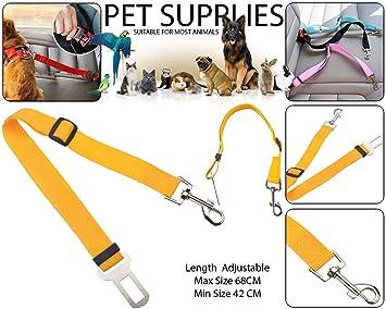 BisLinks Pet Dog Cat Premium Car Safety Arnés de cinturón de ...
