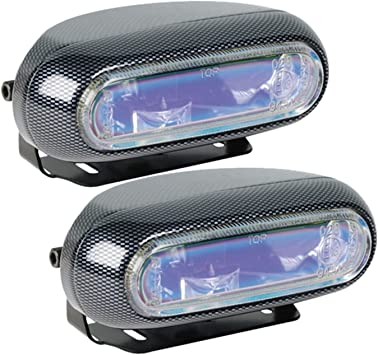 Hella H71010301 Optilux Model 1250 12v 55w H3 Fog Light Kit With Carbon Fiber Look And Blue Lens Fog Lights Amazon Canada