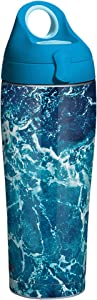 Tervis Water Aerial Insulated Tumbler, 24oz Bottle, Stainless Steel