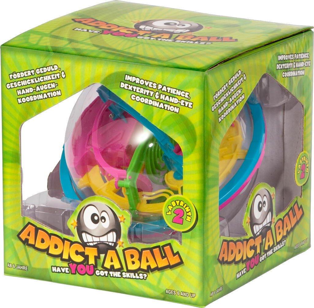 5060164140115 Addict-A-Ball 14 cm: Bringen Sie einen kleinen Ball durch das Labyrinth Sonstige