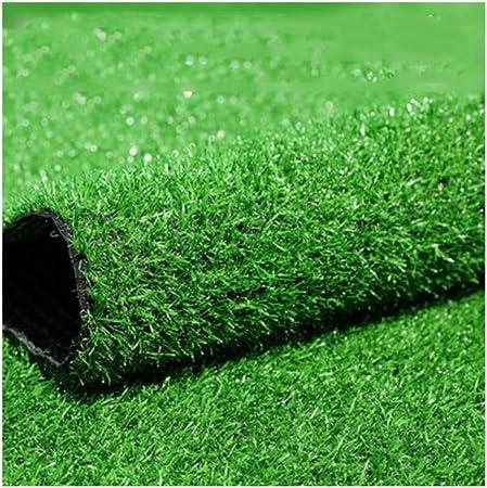 YNFNGXU Simulación Interior/Exterior Verde Césped Artificial Alfombra De 20 Mm De Alto Césped Sintético con Agujero De Drenaje Jardín Césped Falso (Size : 2x4m): Amazon.es: Hogar