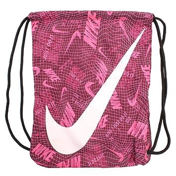 Nike Ba5262 Bolsa de Cuerdas para el Gimnasio, 20 cm, Bordeaux/Black/Pink Foam: Amazon.es: Equipaje
