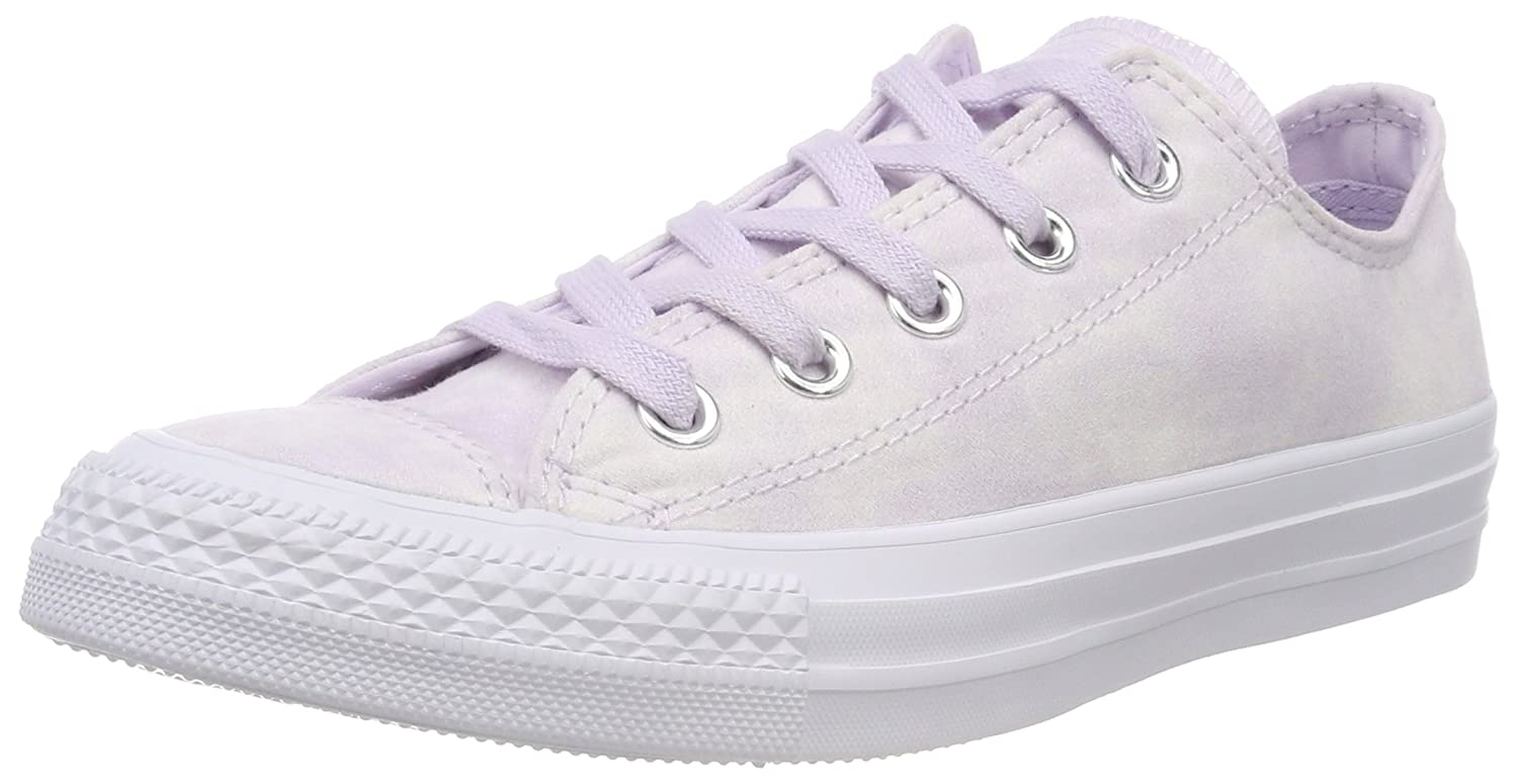 Converse Unisex-Erwachsene CTAS OX Fitnessschuhe  45 EU|Pink (Barely Grape/Barely Grape 551)