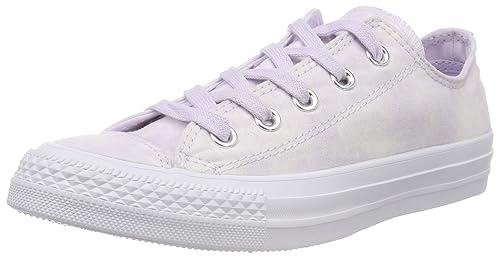 Converse Chuck Taylor Ctas Ox Textile, Scarpe da Fitness Unisex-Adulto, Rosa (Barely Grape/Barely Grape 551), 40 EU