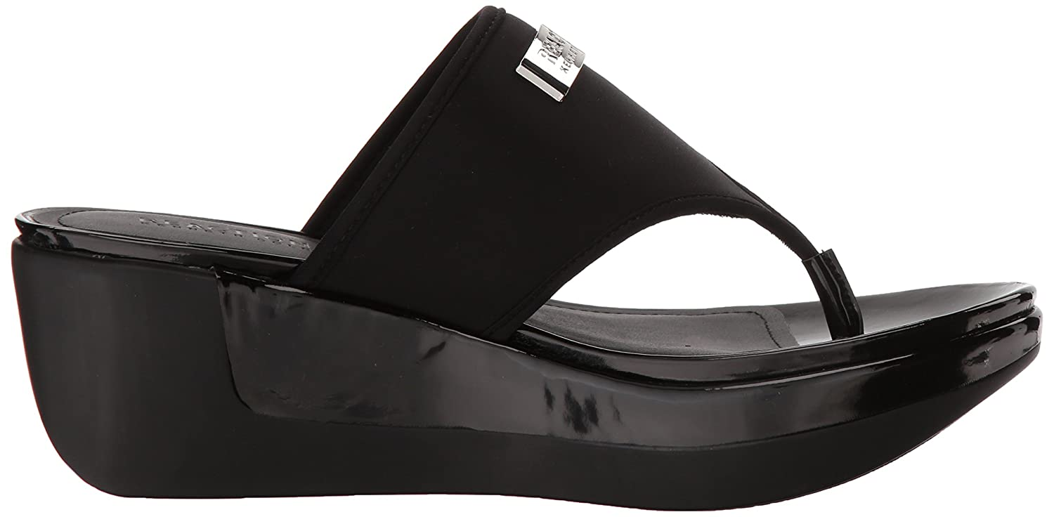 Kenneth Cole REACTION Womens Pepea Life Sporty Thong Platform Sandal Wedge
