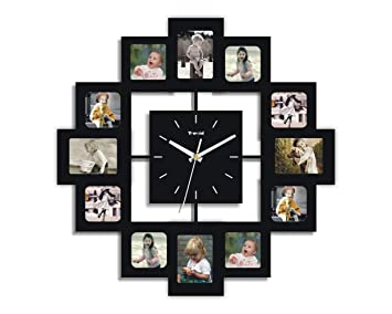 6d855efdc00f Image Unavailable. Image not available for. Colour  Creative Motion 12-Photo  Frame and Clock