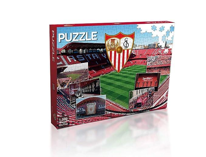 Sevilla FC Puzzle 1000 Piezas (11909), Multicolor (Eleven Force 1 ...