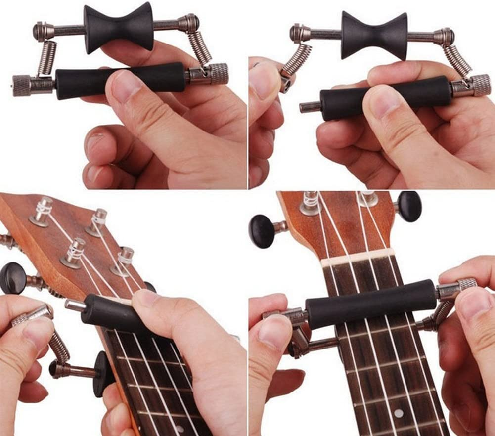 Guitarra de cejilla, hlhome guitarra cejilla guitarra Sliding Capo ...