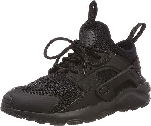 Nike Jungen Huarache Run Ultra (ps) Sneakers, Schwarz (Black