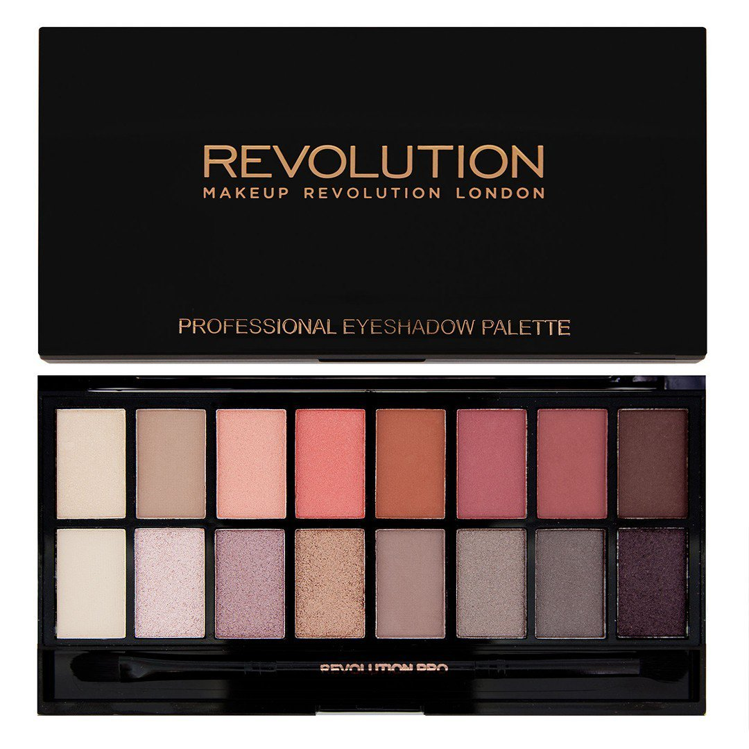 Makeup Revolution Eyeshadow Palette, New-Trals vs Neutrals