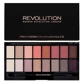 Amazon.com : Makeup Revolution Eyeshadow Palette, New-Trals vs Neutrals : Beauty
