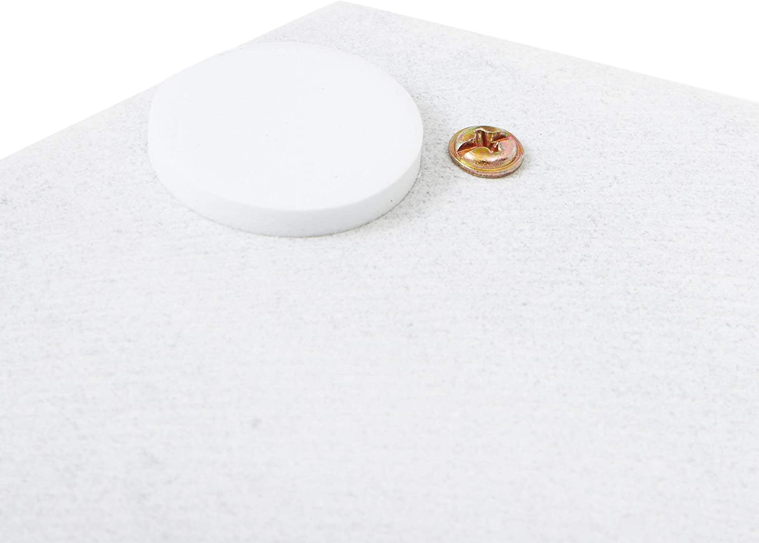 Juvale Hexagon Marble Tray with Handles 11.8 x 10 x 0.4 in
