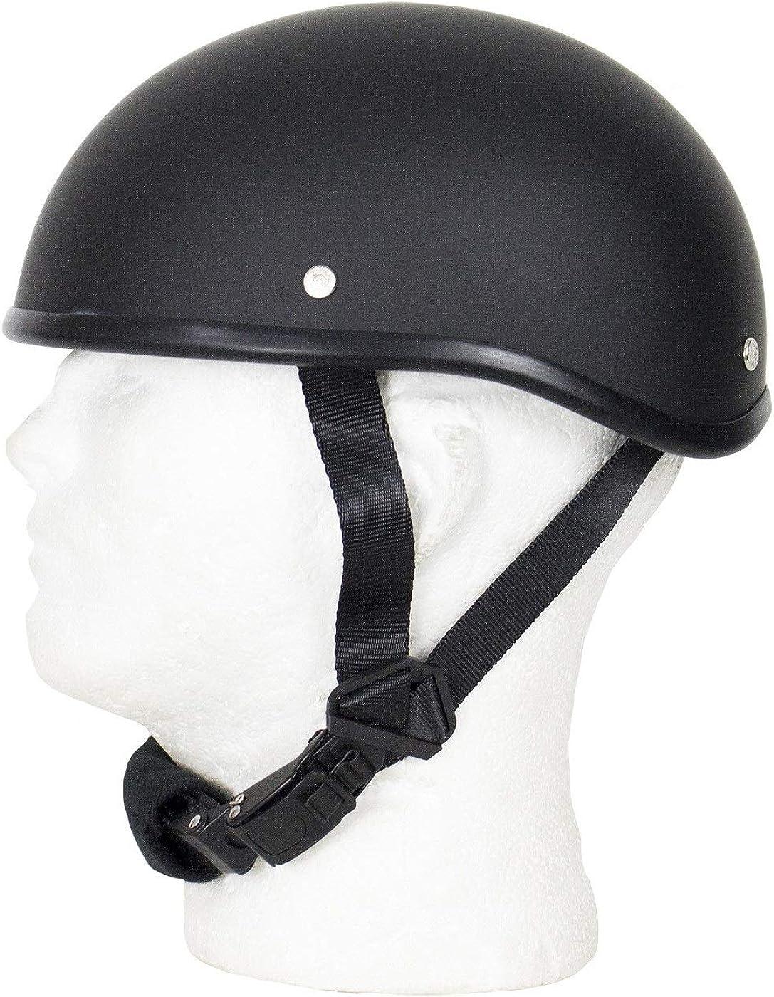 SOA Beanie Novelty Skull Cap Flat Black