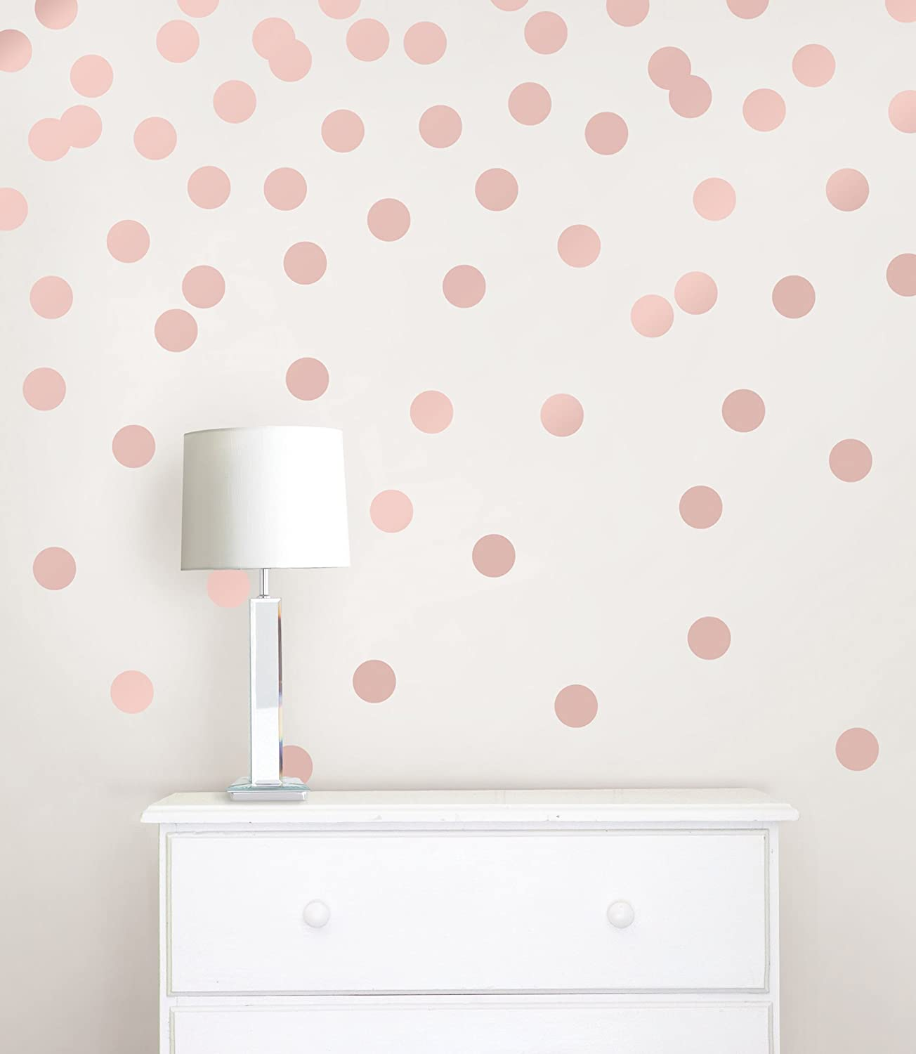 Wall Pops WPD2137 Rose Gold Confetti Dot Decals Amazon