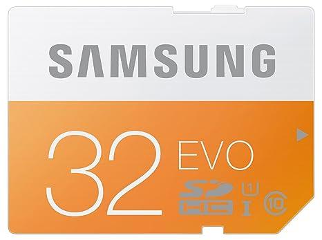 Samsung MB-SP32D/AMZ - Tarjeta de memoria SD EVO de 32 GB