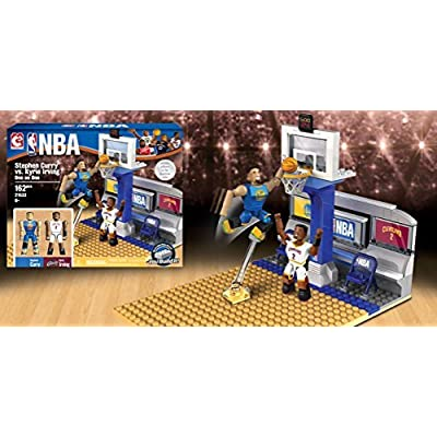 The Bridge Direct NBA Stephen Curry vs. Kyrie Irving One on One Set: Toys & Games