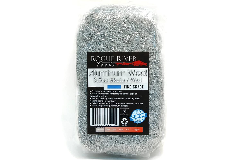 Fine Rogue River Tools Aluminum Wool 3.5oz Skein Wad