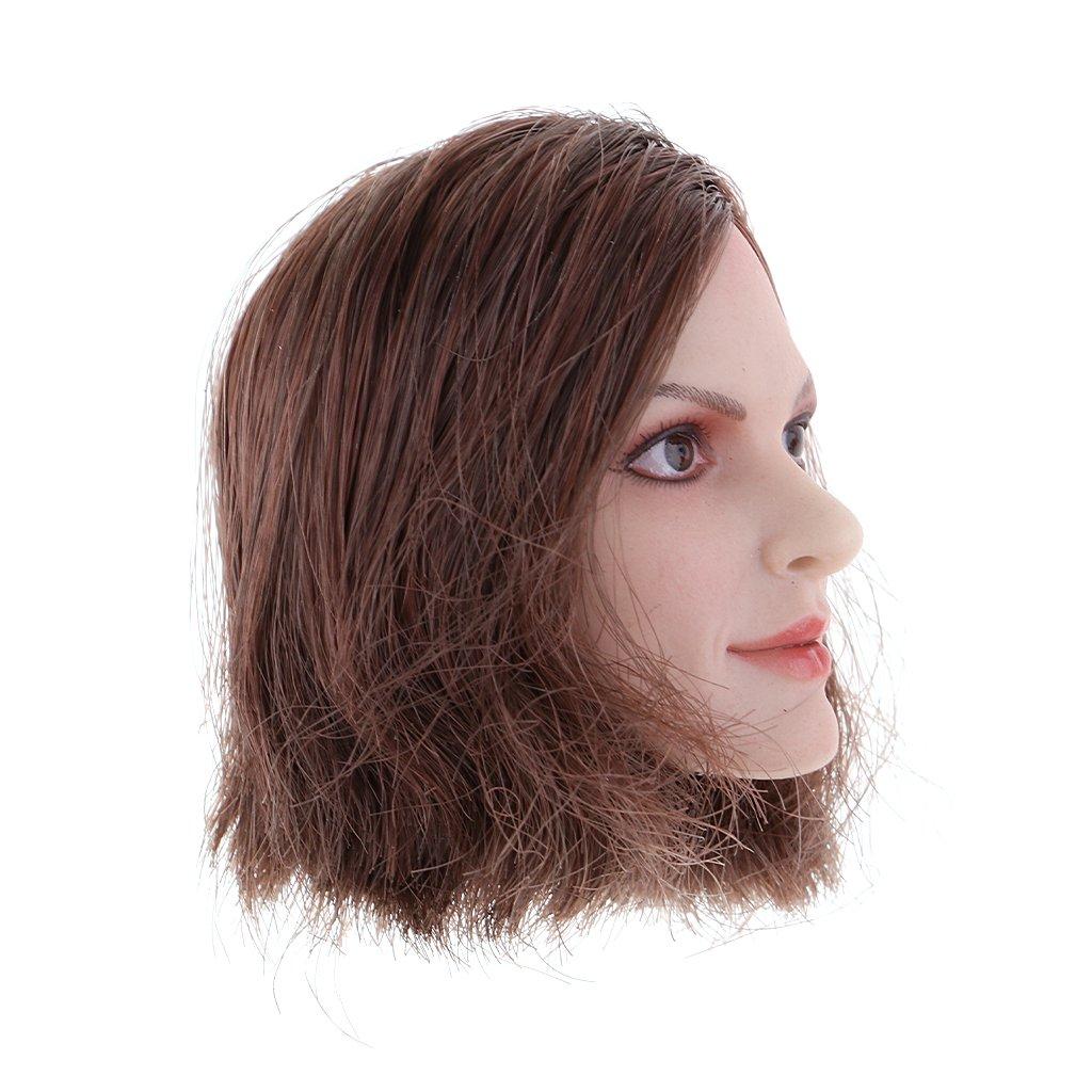 D DOLITY 1 6 Weiblicher Asiatischer Kopf Headsculpt Head Kopf Kopf Kopf für 12 Zoll Actionfiguren - Kurze 079029
