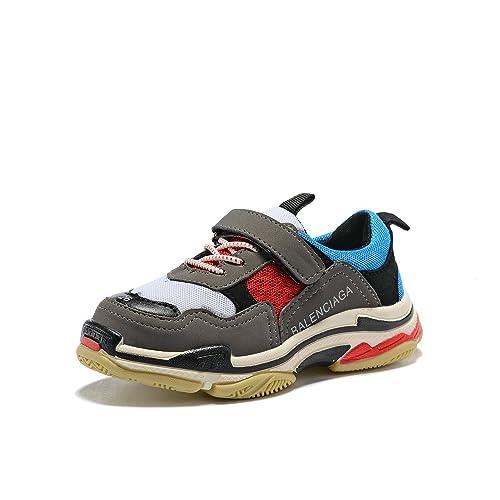 Balenciaga - Zapatillas de Deporte a la Moda Unisex bebé, Beige (Azul), 3 US Big Kids: Amazon.es: Zapatos y complementos