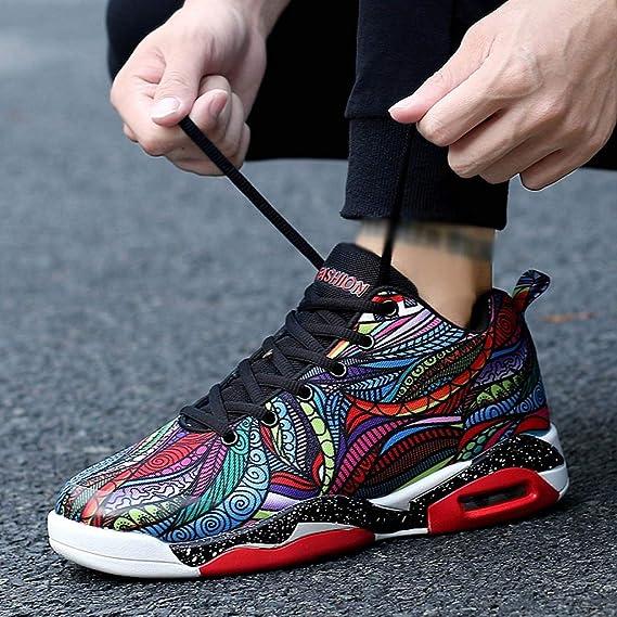 ZODOF Zapatillas Calzado Deportivo Pareja Al Aire Libre Malla con Cordones Casual Zapatos Deportivos Correr Respirable Zapatos Zapatillas Sneakers Zapatillas Running: Amazon.es: Ropa y accesorios