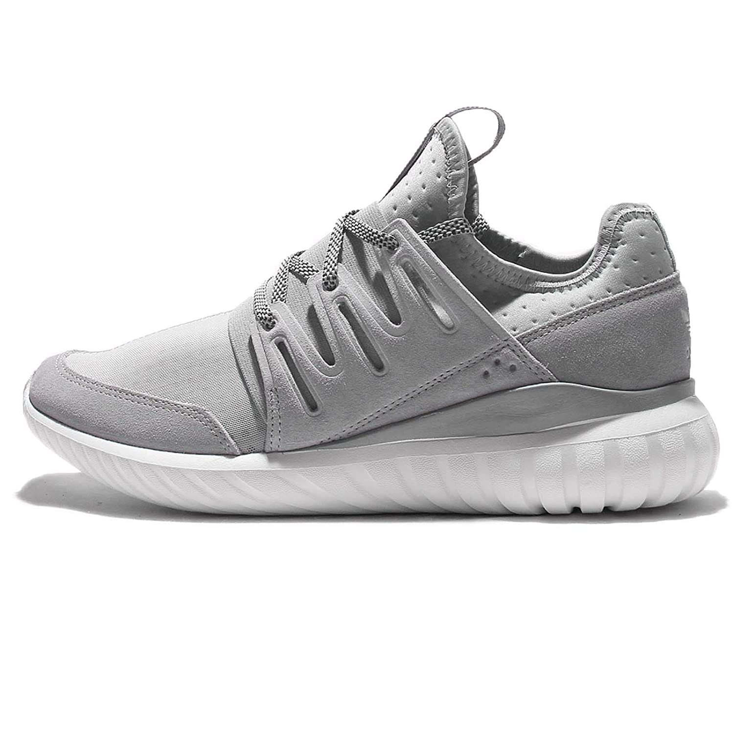 Amazon.com | adidas Mens Tubular Radial, LGTGRE/CORE BLACK, 9.5 M US | Shoes