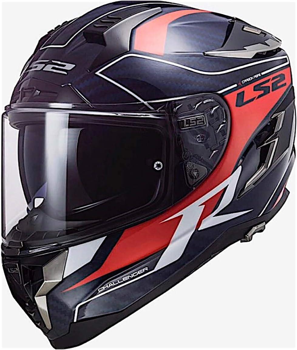 LS2 Helmets Challenger GT Full Face Street Helmet Flex Matte Black - X-Large