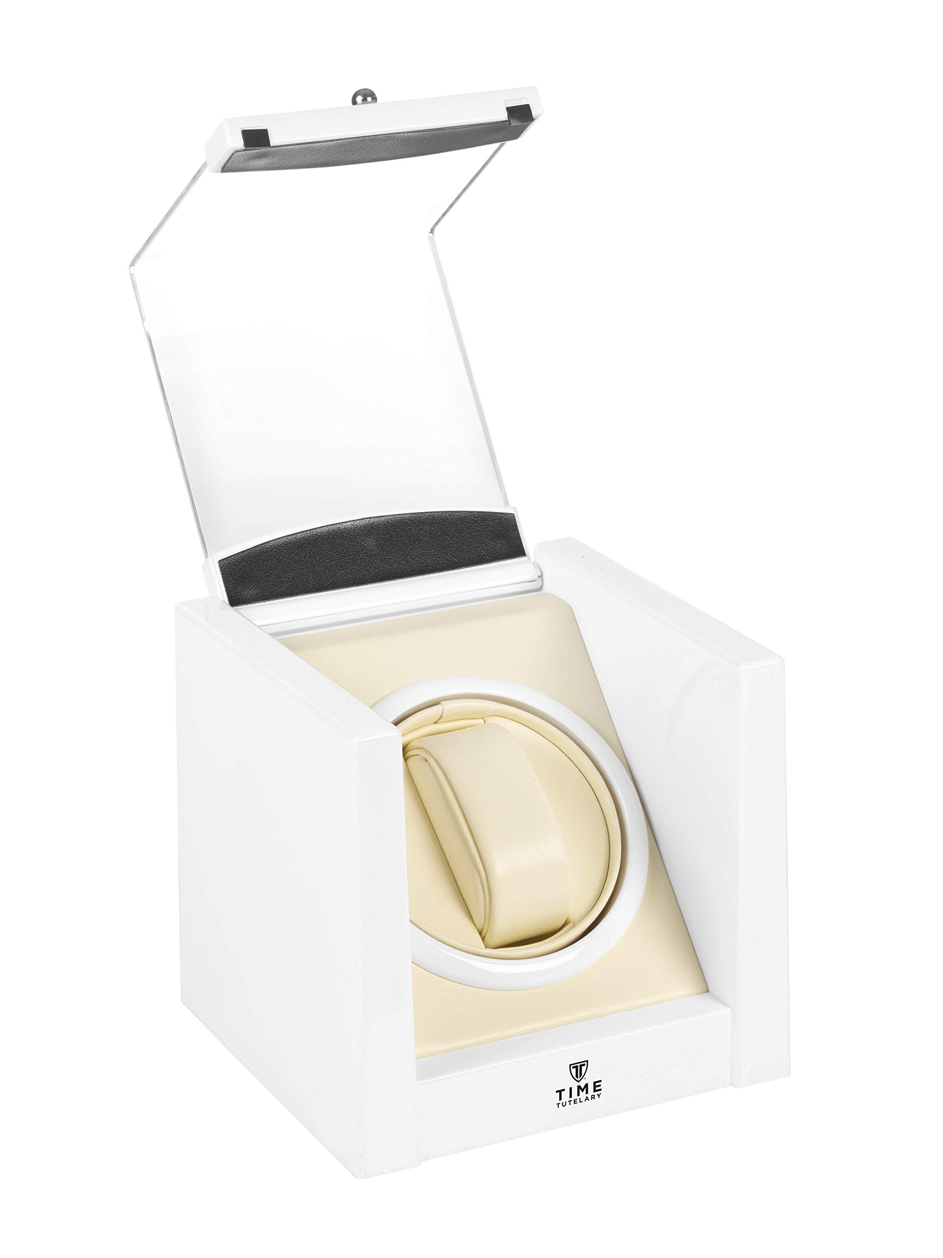 Time Tutelary KA079 Automatic Single One Watch Winder White by Time Tutelary (Image #4)