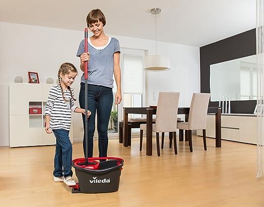 Vileda Turbo 2 en 1 EASYWORLD Anillo y Clean cabezal de repuesto Pack Doble, 2 unidades: Amazon.es: Salud y cuidado personal