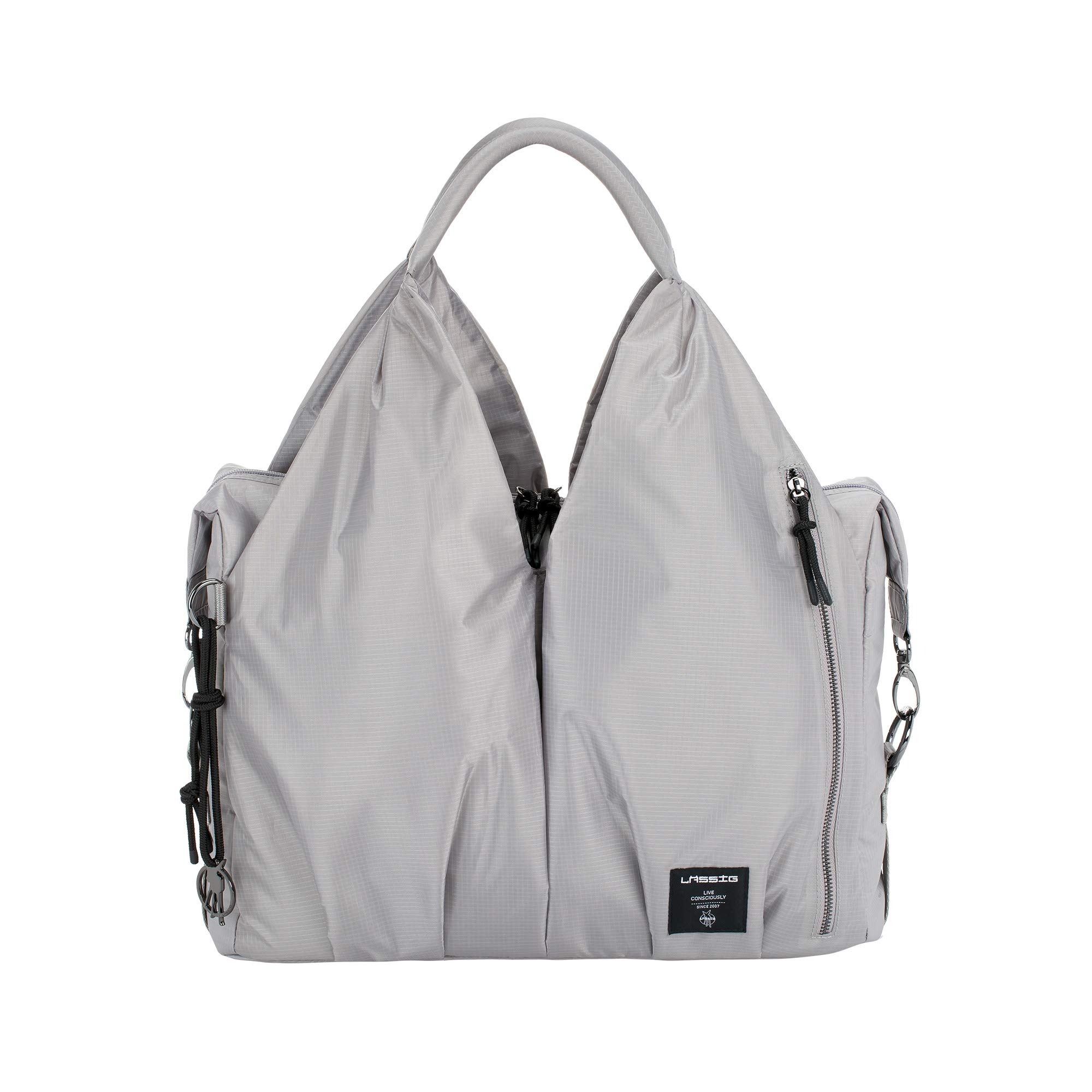 Lassig Green Label Neckline Bag POP, Grey