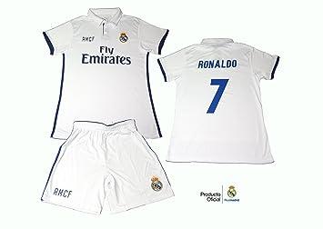 equipacion- kit-conjunto Real Madrid Ronaldo 2016 – 2017 Official Replica ec95ba4d2ebc5