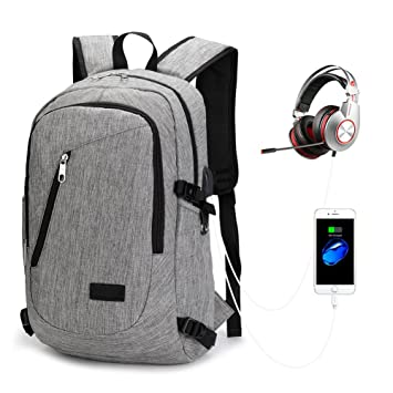 ea8705e764e61 Laptop Backpack Rucksack Anti-Diebstahl Outdoor Wasserdichter Rucksack  Herren Damen Student für Schule Reisen Wandern