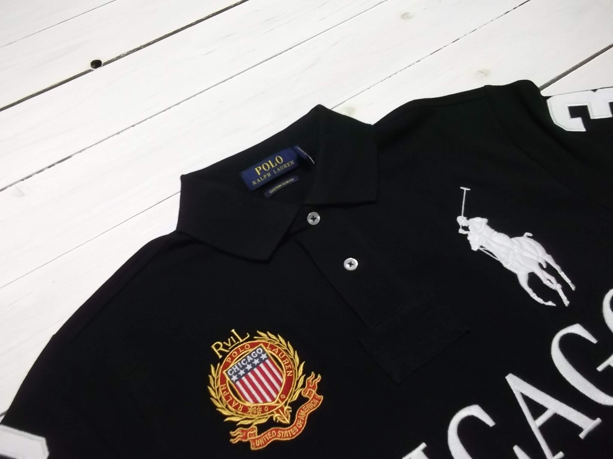Mens Mesh Shirt Polo Custom Ralph Slim Lauren City Fit dBeQxoECWr