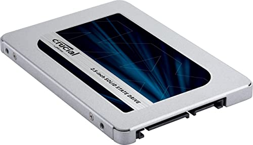 "Crucial MX500 2.5"" ssd for gaming"