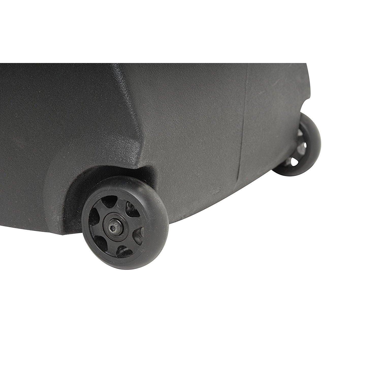 SKB 2SKB-R4916W Roto-Molded 49-Inch x 16-Inch ATA Stand Transport Case with Wheels TSA Locking Strap by SKB (Image #4)